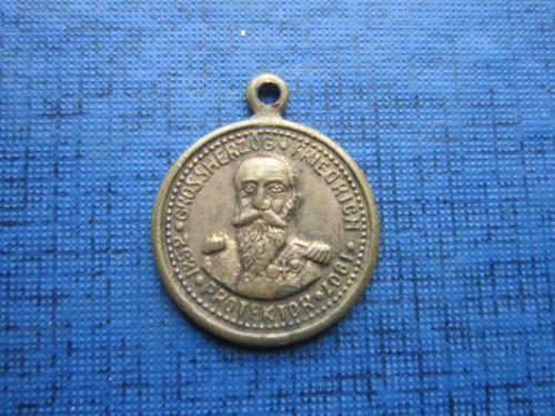 Медаль фрачная петличная Германия 1607-1907 Фридрих