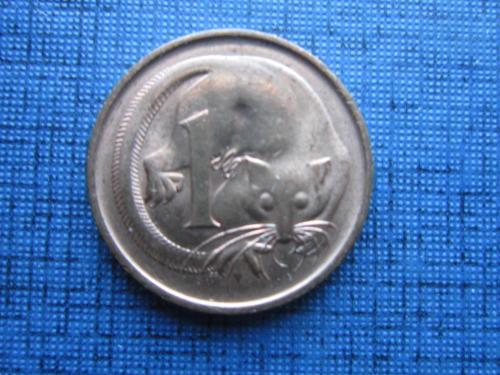 Монета 1 цент Австралия 1971 фауна