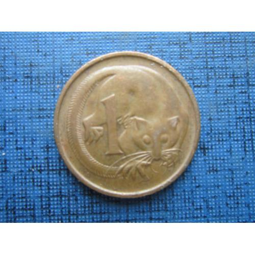 Монета 1 цент Австралия 1979 фауна