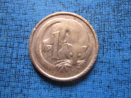 Монета 1 цент Австралия 1983 фауна