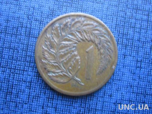 монета 1 цент Новая Зеландия 1967
