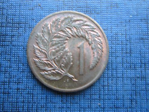 Монета 1 цент Новая Зеландия 1973