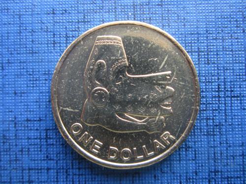 Монета 1 доллар Соломоновы острова Британская колония 2012