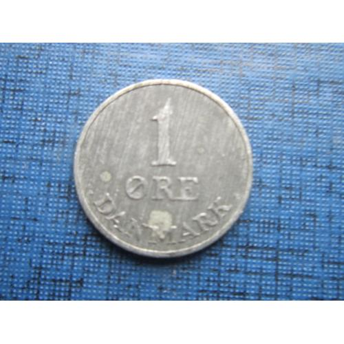 Монета 1 эре Дания 1953 цинк