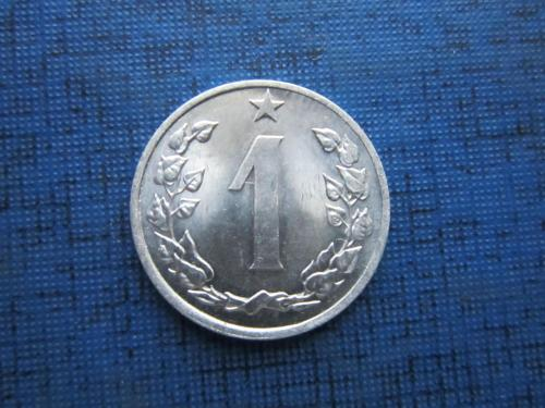 Монета 1 геллер Чехословакия ЧССР 1962 состояние