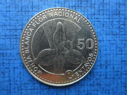 Монета 50 сентаво Гватемала 2012 состояние