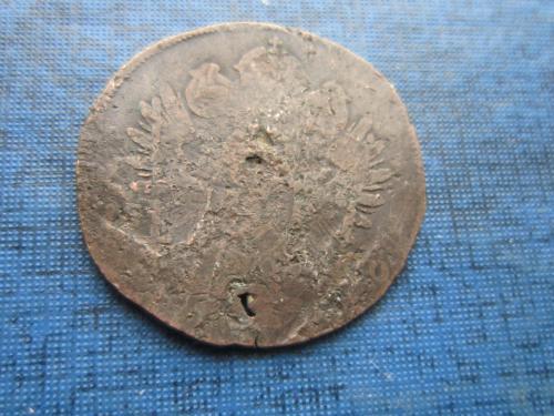 Монета 1 крейцер Австрия 1800 как есть