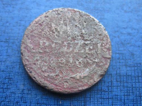 Монета 1 крейцер Австрия 1816 как есть