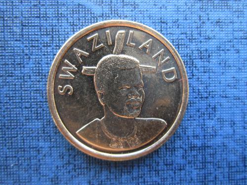 Монета 1 лилангени Свазиленд 2011 UNC