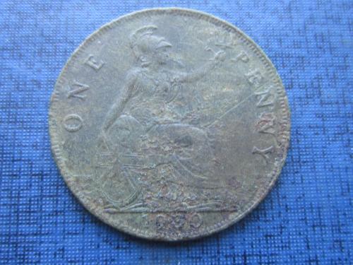 монета 1 пенни Великобритания 1930