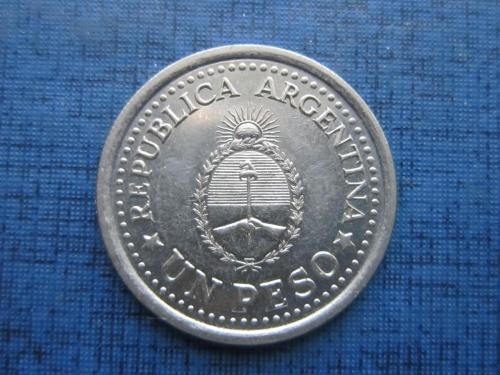 Монета 1 песо Аргентина 1960 юбилейка 150 лет удаления Вице-короля