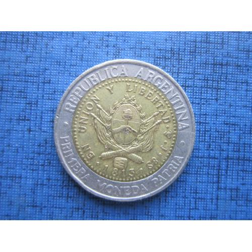 Монета 1 песо Аргентина 1994