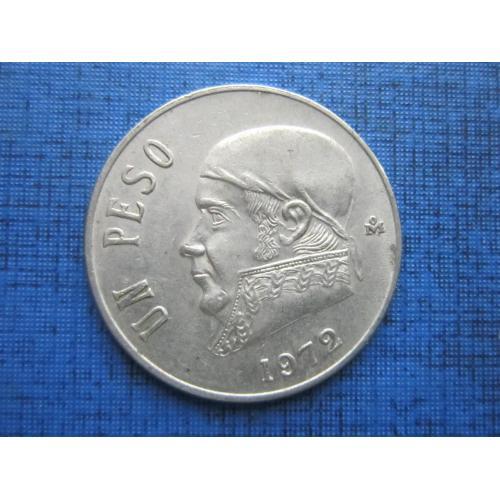 Монета 1 песо Мексика 1972