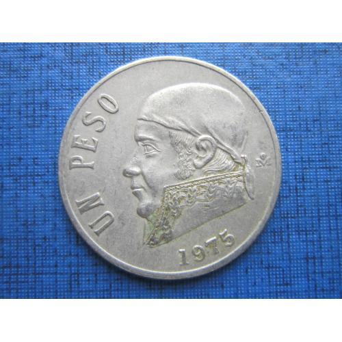 Монета 1 песо Мексика 1975