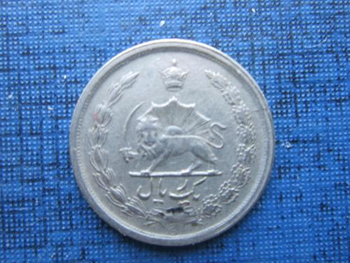 Монета 1 риал Иран 1970 (1349)