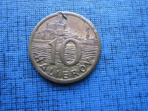 Монета 10 геллеров Словакия 1942 нечастый год