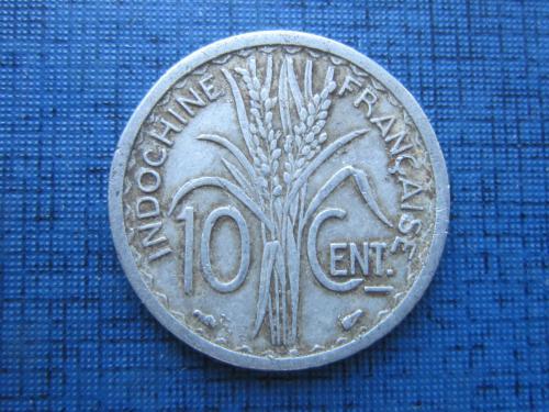 Монета 10 сантимов Индокитай Французский 1945