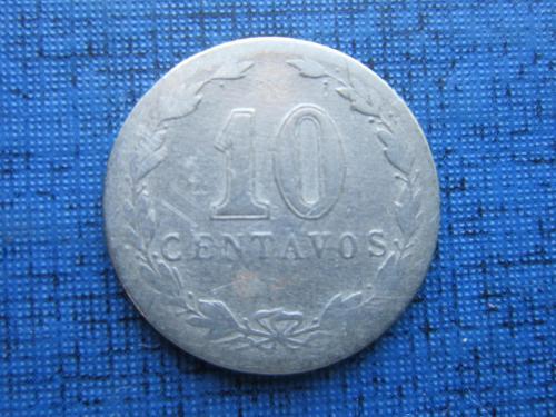 Монета 10 сентаво Аргентина 1922