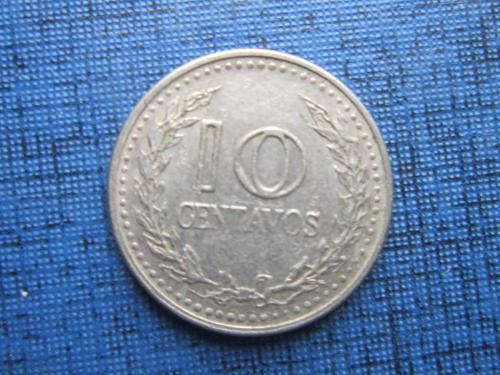 Монета 10 сентаво Колумбия 1976