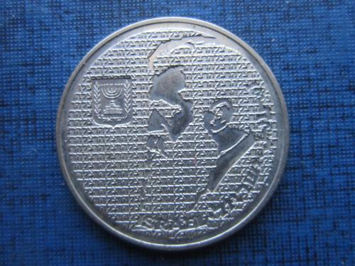 Монета 10 шекелей 1984 Теодор Герцль