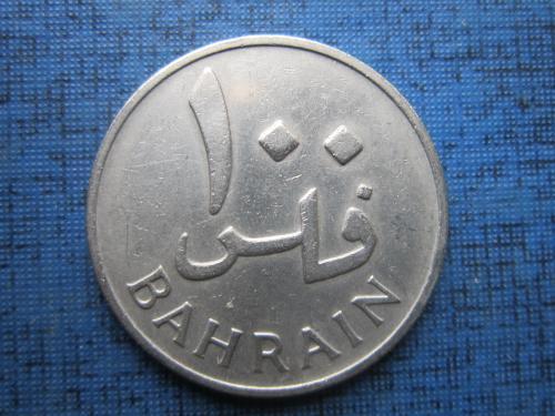 монета 100 филс Бахрейн 1965 (1385)