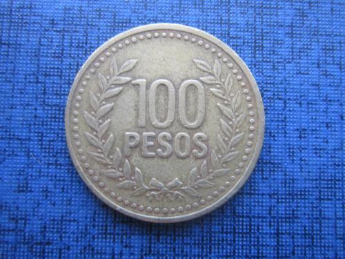 монета 100 песо Колумбия 1994