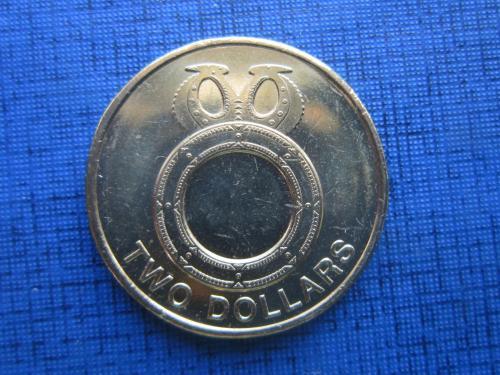 Монета 2 доллара Соломоновы острова Британская колония 2012