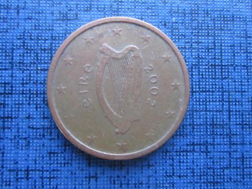 монета 2 евроцента Ирландия 2002