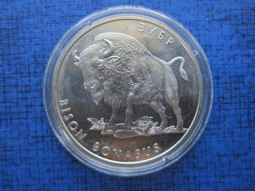 Монета 2 гривны Украина 2003 зубр фауна