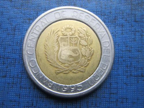 Монета 2 соль Перу 1995