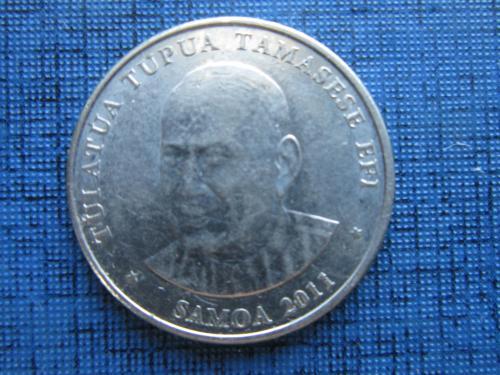 Монета 20 сене Самоа 2011