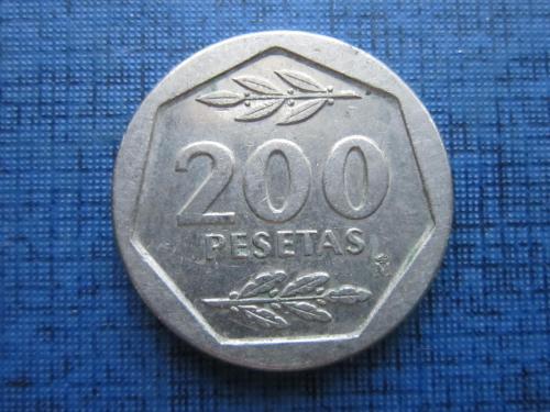 Монета 200 песет Испания 1987