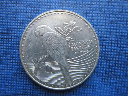Монета 200 песо Колумбия 2016 фауна попугай