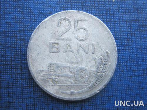 монета 25 бани Румыния 1982
