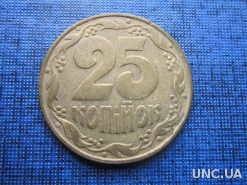 монета 25 копеек Украина 1992