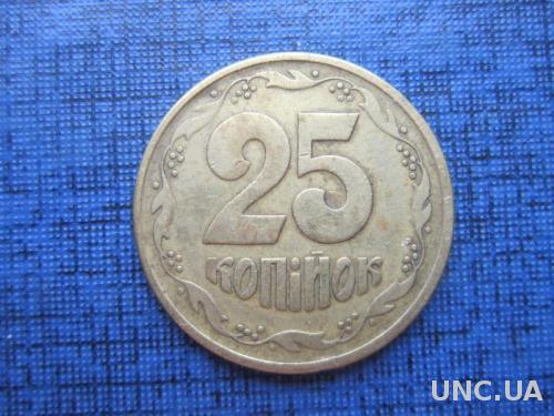 Монета 25 копеек Украина 1994