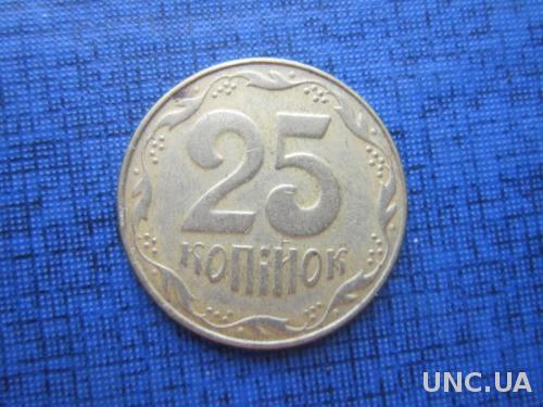 Монета 25 копеек Украина 2008