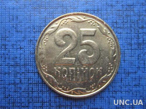 Монета 25 копеек Украина 2012 состояние