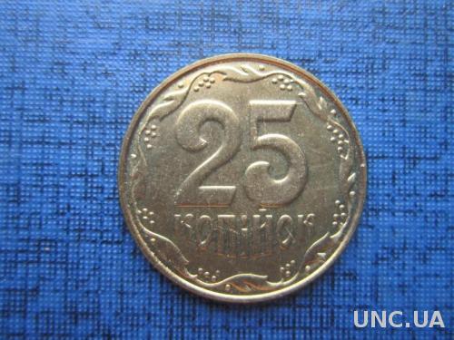 Монета 25 копеек Украина 2013 состояние