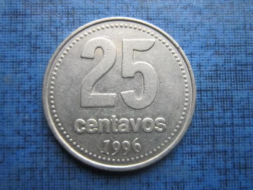 Монета 25 сентаво Аргентина 1996
