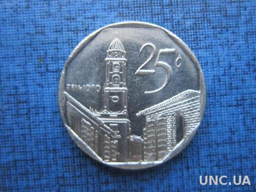 Монета 25 сентаво Куба 2006