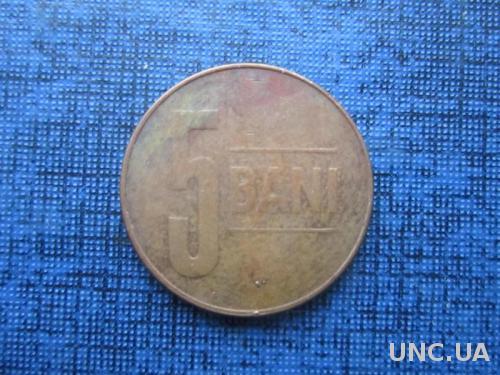 Монета 5 бани Румыния 2010