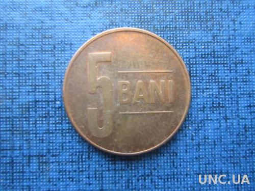 Монета 5 бани Румыния 2014