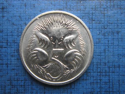 Монета 5 центов Австралия 1993 фауна