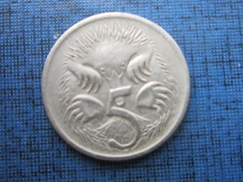 Монета 5 центов Австралия 1999 фауна