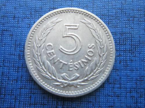 Монета 5 чентезимо Уругвай 1953