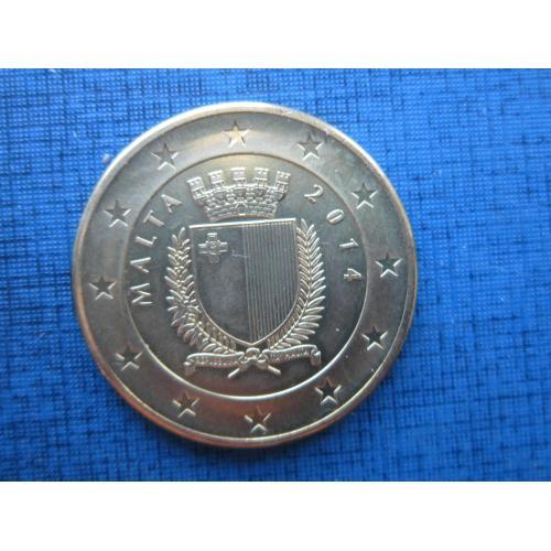 Монета 5 евро Мальта 2014 100 лет начала первой мировой войны красный крест сестра милосердия солдат