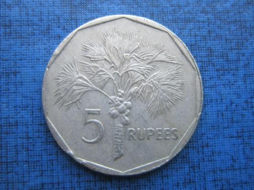 монета 5 рупий Сейшельские острова Сейшелы 2007