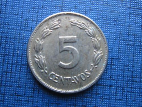 Монета 5 сентаво Эквадор 1946 состояние