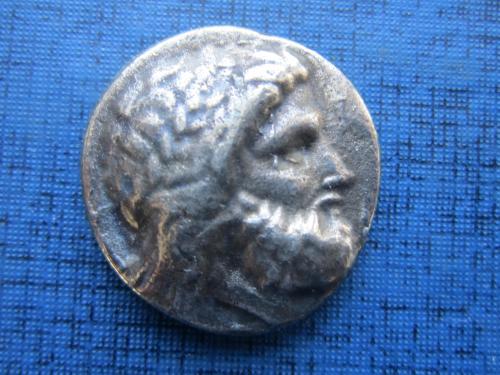 Монета копия монетного двора античной греческой монеты фауна сокол